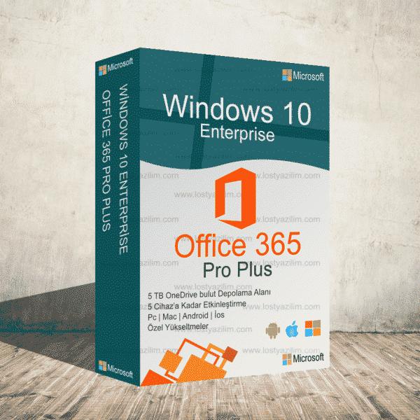 Windows 10 enterprise ve office 365