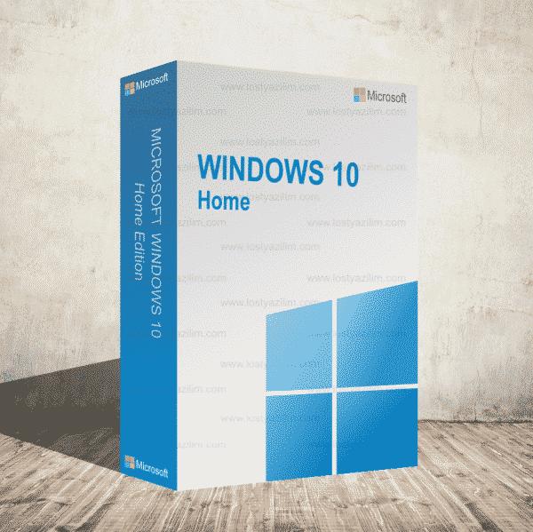 Windows 10 Home ve Sİngle Language