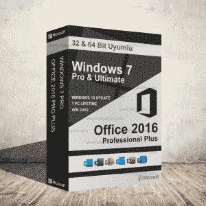 Windows 7 Pro Office 2016 300x300