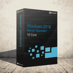 Windows 2016 Server Standart 16 Core Dijital Ürün Anahtarı