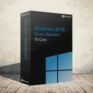 Windows 2019 Server Standart 16 Core Dijital Ürün Anahtarı