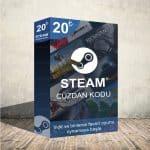 Steam 50₺ Cüzdan Kodu