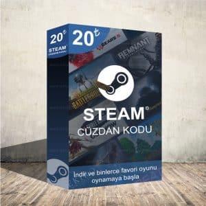 Steam 20₺ Cüzdan Kodu