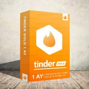 Tinder Gold 1 Aylık Dijital Abonelik Kodu