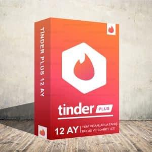 Tinder Plus 12 Aylık Dijital Abonelik Kodu