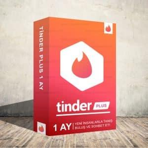 Tinder Plus 1 Aylık Dijital Abonelik Kodu